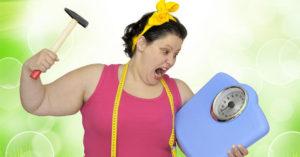 Почему килограммы уходят медленно?