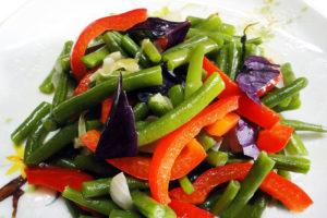Фасоль стручковая замороженная рецепты приготовления салат