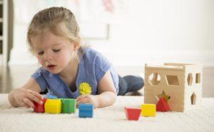 Игра для двухлетнего ребенка