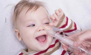 Как лечить у малыша насморк?
