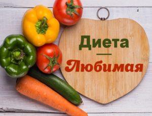 Диета из разных продуктов на 7 дней
