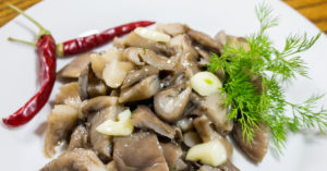 Кулинария грибы вешенки