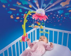 Мобиль на кроватку для новорожденных лучший