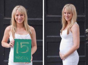 Размер живота на 15 неделе