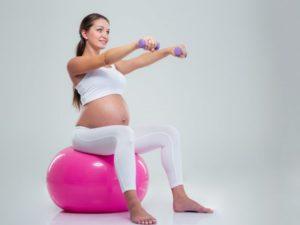 Спорт упражнения для беременных