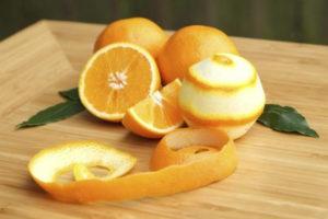 Кожура апельсина для похудения