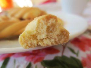 Постное печенье на апельсиновом соке