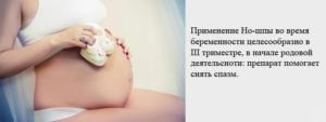 Можно ли ношпу на 34 неделе беременности