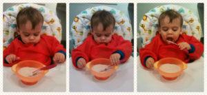 Как ребенка приучить самому кушать?