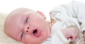 Если у новорожденного кашель